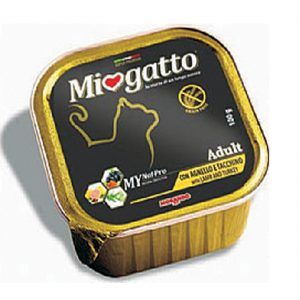 Δισκάκι MIOGATTO Adult lamb & turkey 100gr