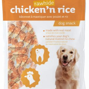 Les Filous Chicken n Rice Rawhide Stick 100g