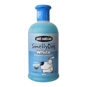 Smelly Dog Shampoo Plus Conditioner White  White 500ml